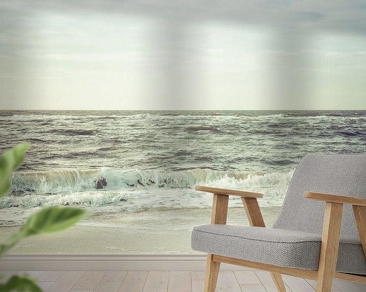 Sfeerimpressie behang: Waves van Pascal Deckarm