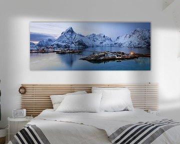 panorama Lofoten van Antwan Janssen