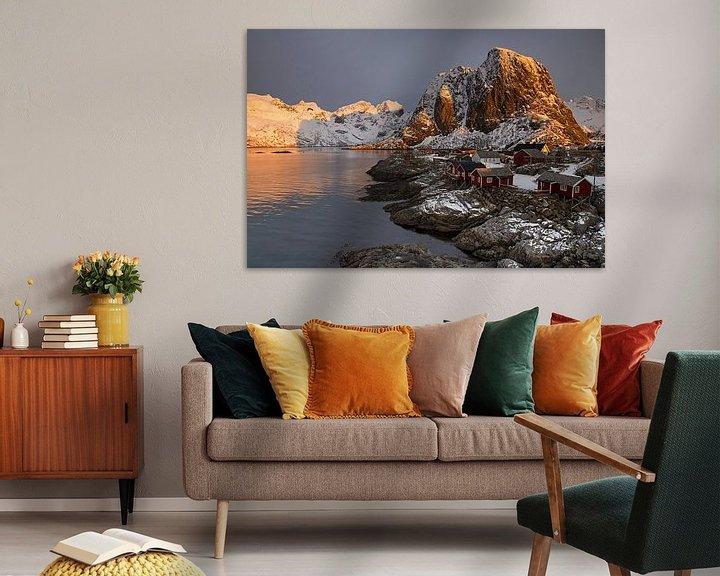 Sfeerimpressie: Zonsopkomst op de Lofoten van Antwan Janssen