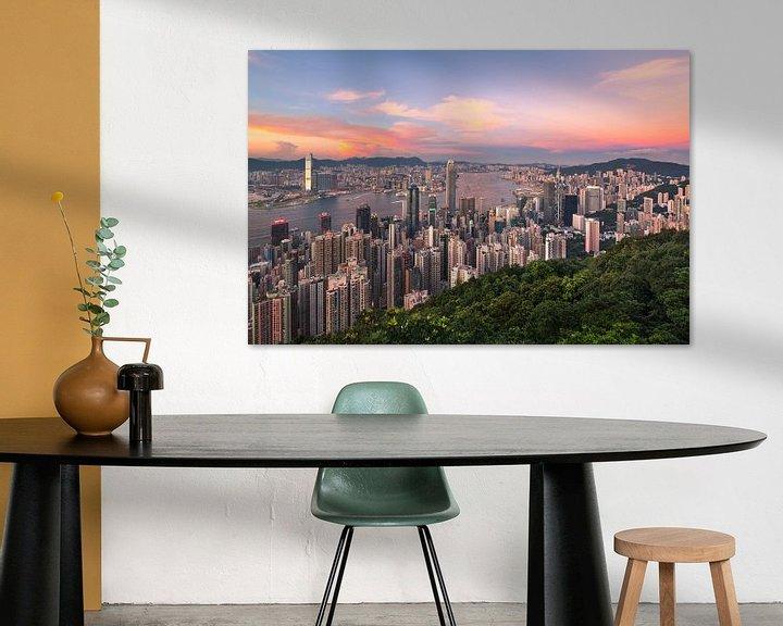 Sfeerimpressie: HONG KONG 15 van Tom Uhlenberg