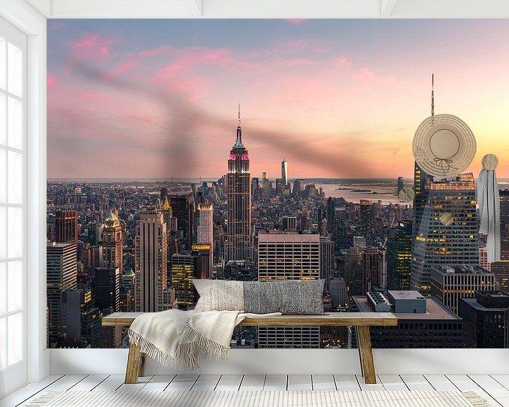 Sfeerimpressie behang: NEW YORK CITY 17 van Tom Uhlenberg