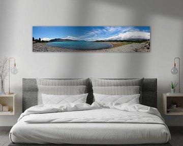Panorama: Lake Tekapo van Thijs Schouten