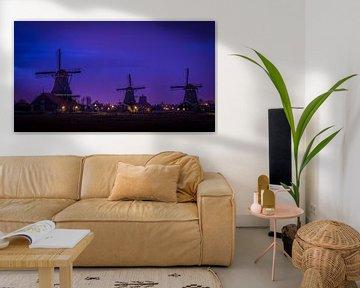 Dutch Windmills by Nighy von Mario Calma