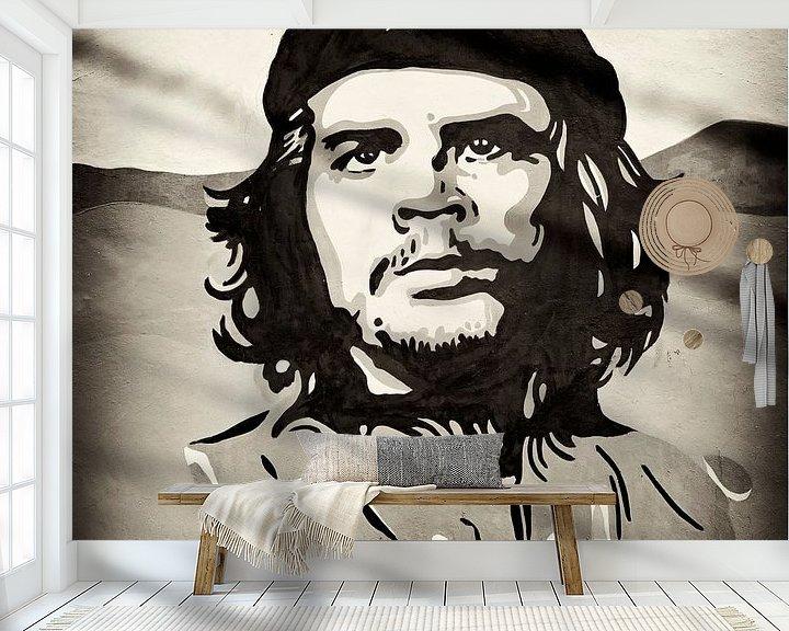 Sfeerimpressie behang: Che Guevara van Cor Ritmeester