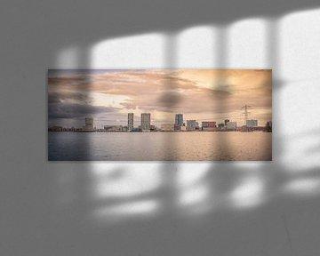Skyline Almere van Sven Wildschut