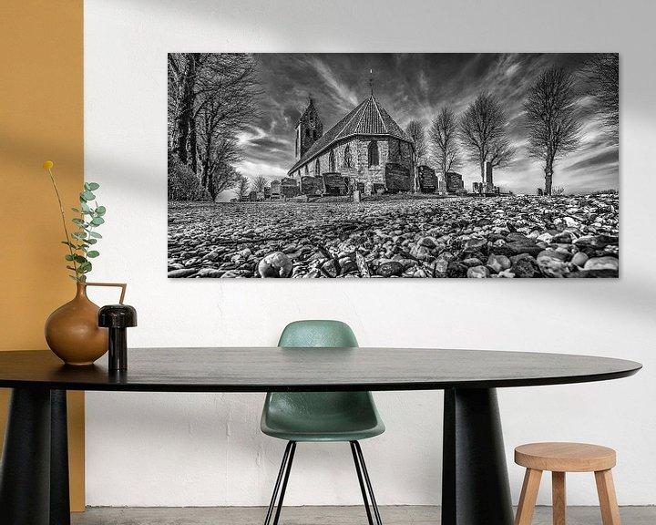 Sfeerimpressie: Het kerkje van Jelsum van Harrie Muis
