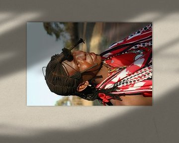 Afrika stammen van Willy Sybesma