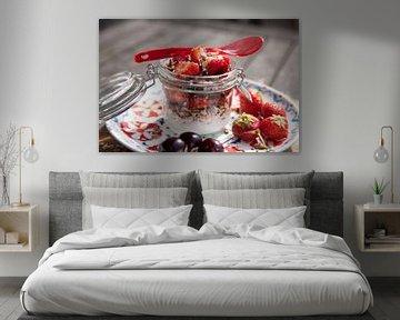 Ontbijtje met aardbeien von Willy Sybesma