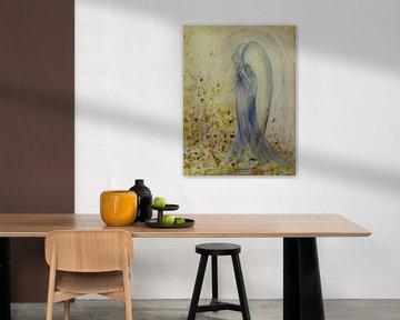 Engel - abstrakt von Christine Nöhmeier