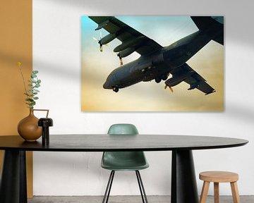 Lockheed C-130 Landing van Jan Brons