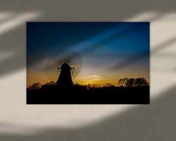 Bolwerksmolen in Deventer van Ardi Mulder