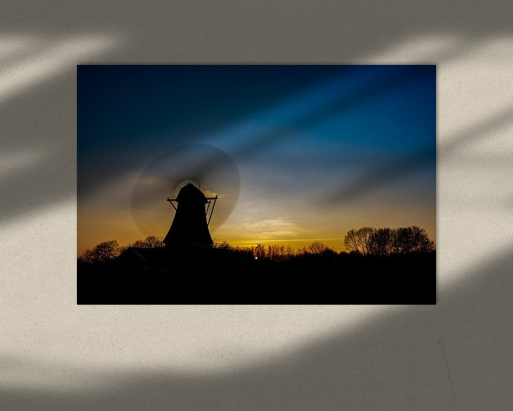 Sfeerimpressie: Bolwerksmolen in Deventer van Ardi Mulder