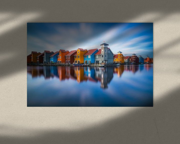 Sfeerimpressie: Reitdiephaven Groningen van Albert Dros