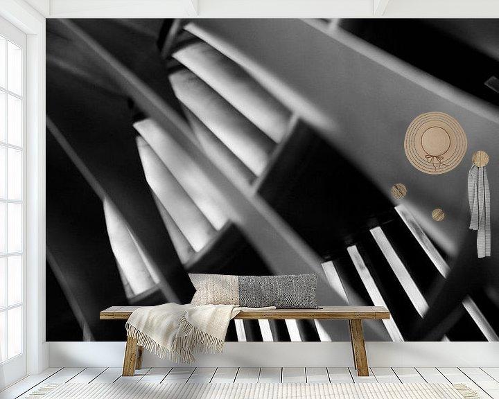 Sfeerimpressie behang: Start your engine II van Mirjam van der Linden