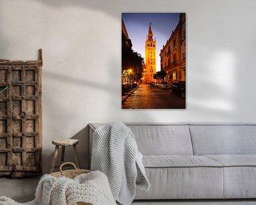Sevilla : Kathedraal met Giralda van Torsten Krüger