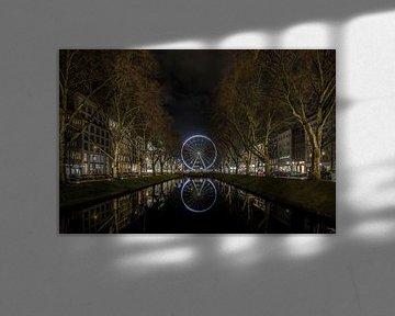 Riesenrad Köningsallee Düsseldorf von Eus Driessen