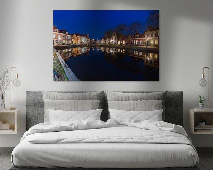 Sfeerimpressie: Westkolk in Spaarndam   van Ardi Mulder