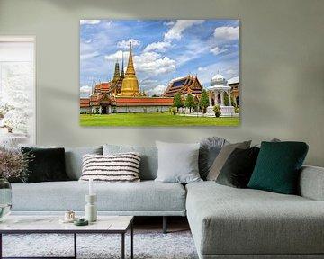 Koninklijk paleis in Bangkok, Thailand van Richard van der Woude