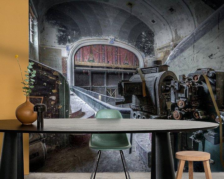 Beispiel fototapete: Go to the Cinema von Wim van de Water