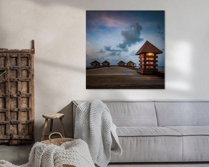 Sfeerimpressie: sweet homes  van Hannes Cmarits