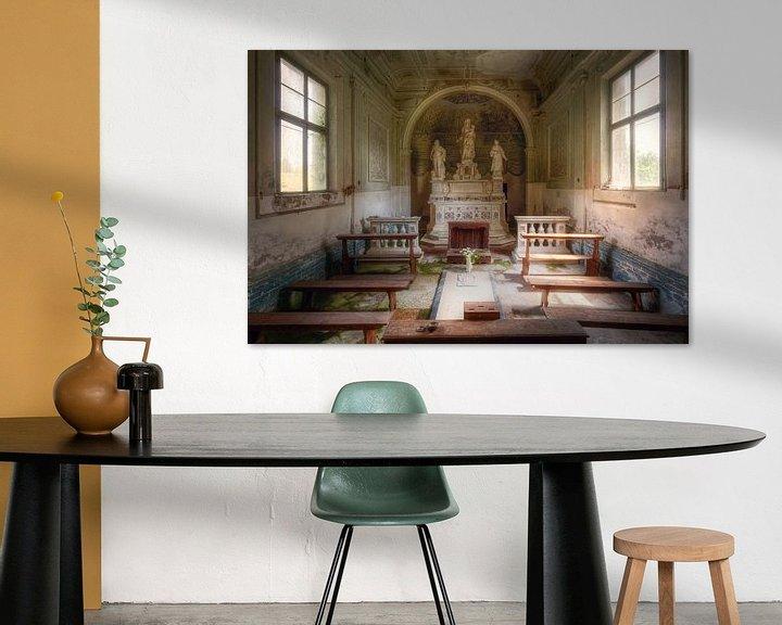 Beispiel: Die kleine Kapelle, Italien von Roman Robroek