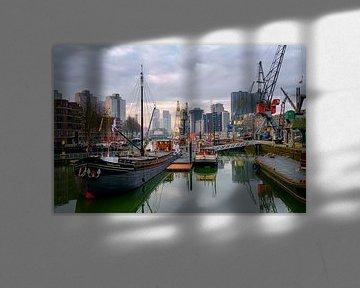 Rotterdam Leuvehaven van Rob Hogeslag