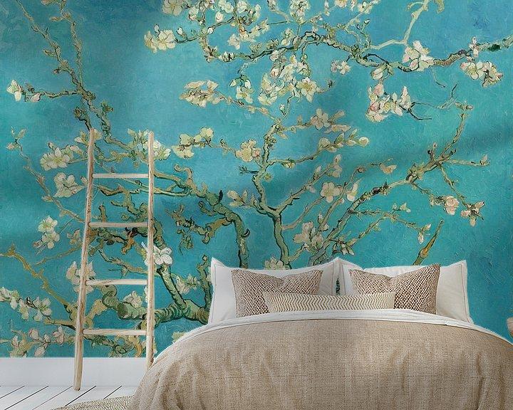 Beispiel fototapete: Mandelbaum in Blüte - Vincent van Gogh