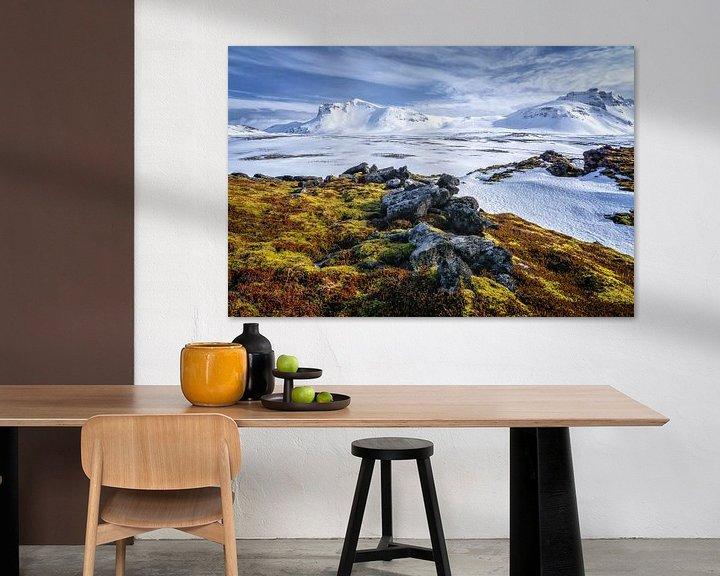 Sfeerimpressie: IJsland landschap van Jasper den Boer