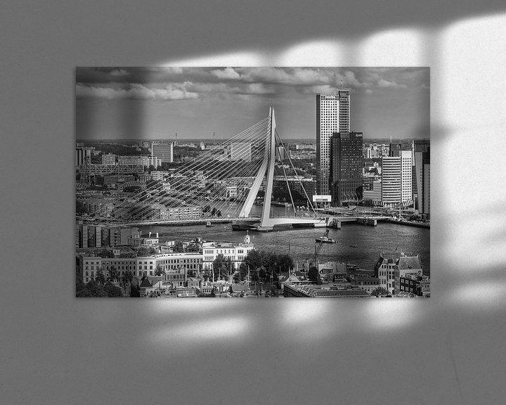 Sfeerimpressie: Rotterdam vanaf de Euromast van Ilya Korzelius