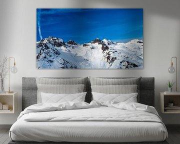 Besneeuwde bergen von Richard Steenvoorden
