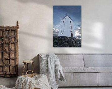 Leuchtturm Katwijk von Peter Sneijders