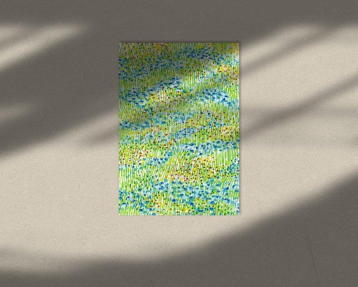 Impression: L'heure d'été, nous apporter la joie! sur ART Eva Maria