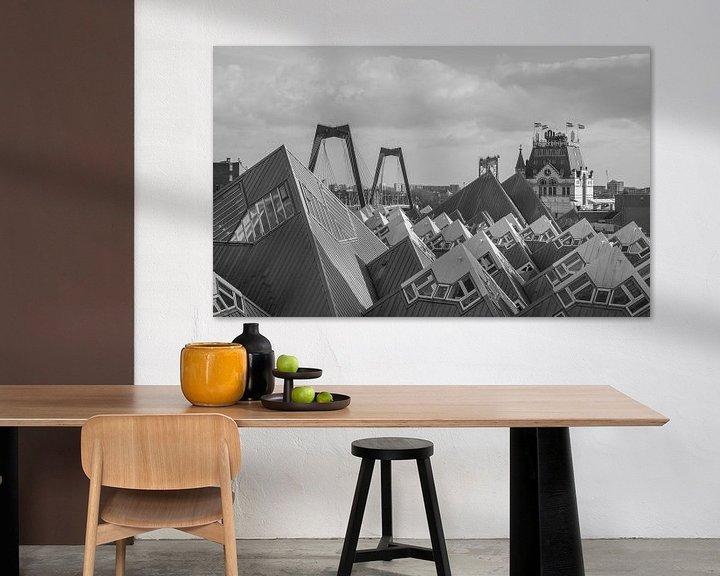 Sfeerimpressie: Het stadsgezicht van Rotterdam van MS Fotografie   Marc van der Stelt