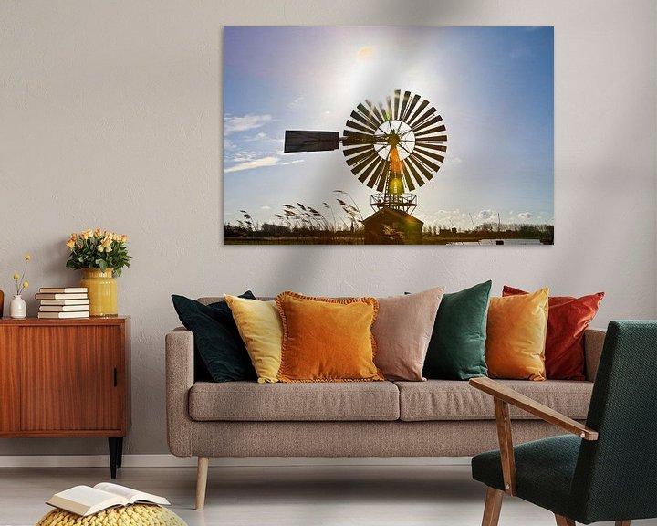Sfeerimpressie: Windmolen  van Mirjam van der Linden