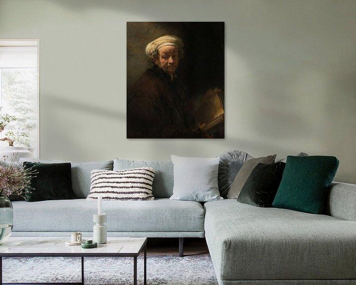 Beispiel: Selbstporträt als Apostel Paulus – Rembrandt van Rijn
