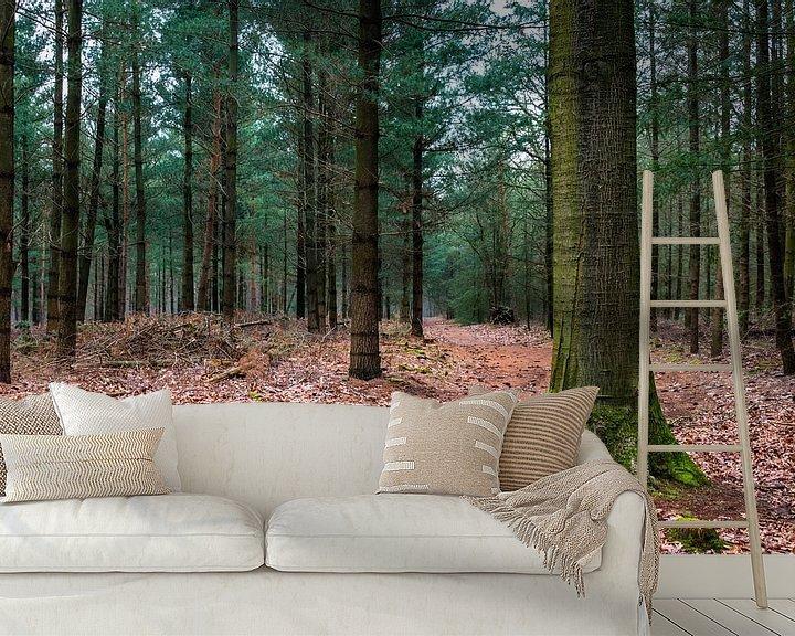 Sfeerimpressie behang: The Forest  van William Mevissen