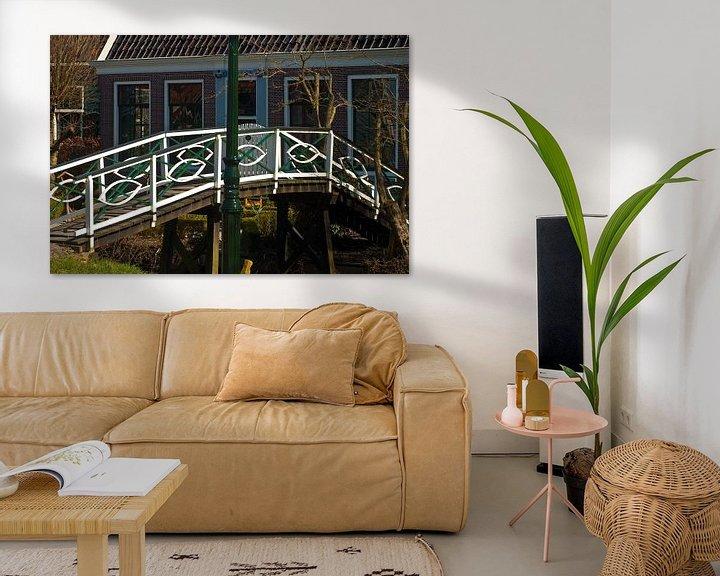 Beispiel: Brücke auf der Zaanse Schans von Agnes Meijer