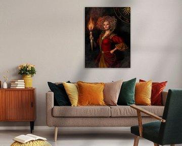 Leo zodiac sign van Britta Glodde