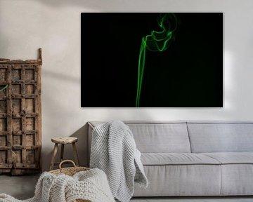Wierook groen van Dana Schoenmaker
