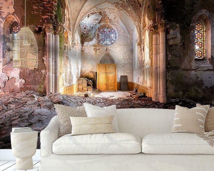 Impression: Sunlight in Church. sur Roman Robroek