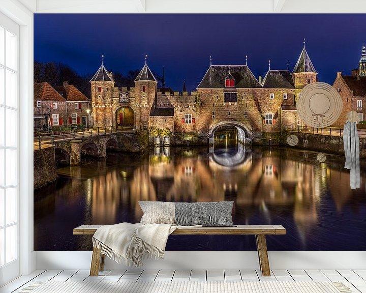 Beispiel fototapete: De Koppelpoort Amersfoort von Dennisart Fotografie