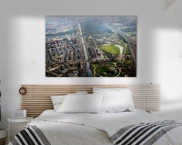 Westergasfabriek, Amsterdam vanuit de lucht van Melvin Erné