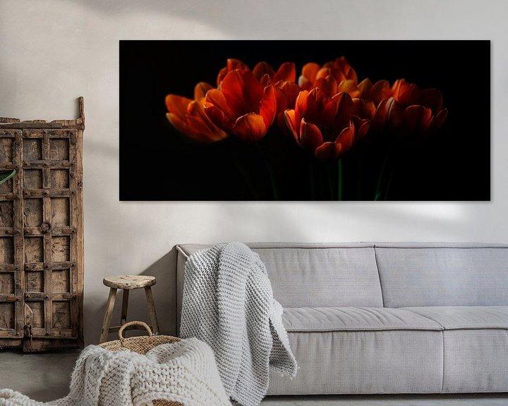 Sfeerimpressie: Tulpen II van Pieter Navis