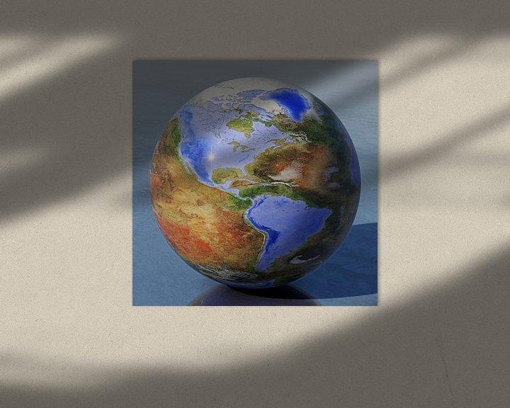 Sfeerimpressie: De omgekeerde wereld - Amerika van Frans Blok