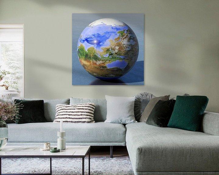 Sfeerimpressie: De omgekeerde wereld - Azië en Australië  van Frans Blok