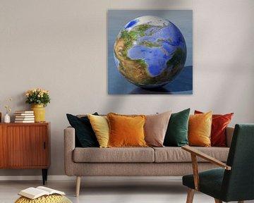 Die umgekehrte Welt - Europa und Afrika von Frans Blok