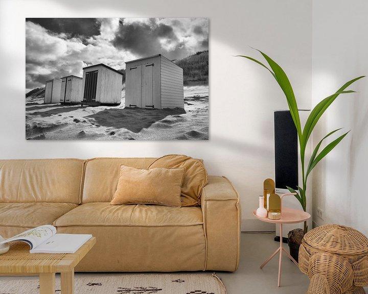 Impression: Maisons de plage sur Zeeland op Foto