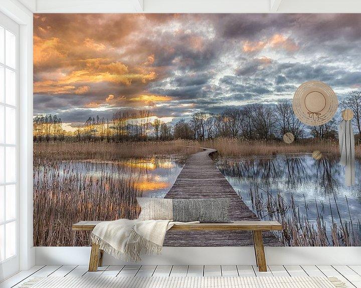 Sfeerimpressie behang: Beekerbergeerwoud, Klarenbeek van Jeroen Weideman