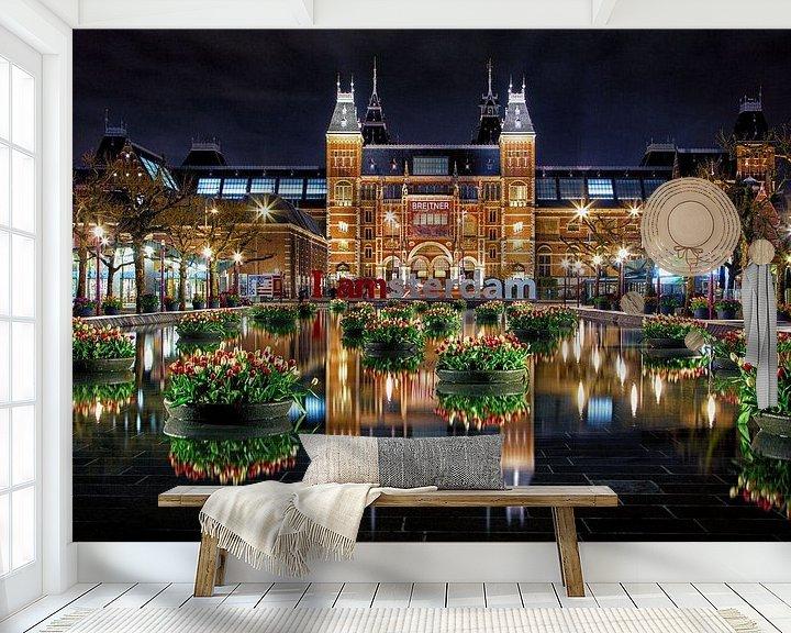 Impression: Des tulipes pour le Rijksmuseum d'Amsterdam sur Thea.Photo