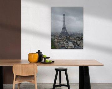 Eiffeltoren van Parijs van Ilona Hartman